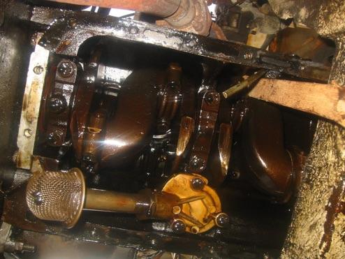 Spitfire Oil Leak